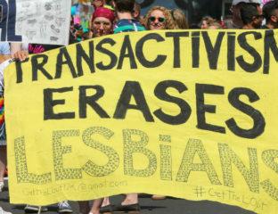 anti-transgender protests