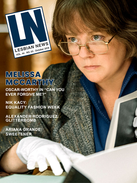 Lesbian News October 2018 Issue