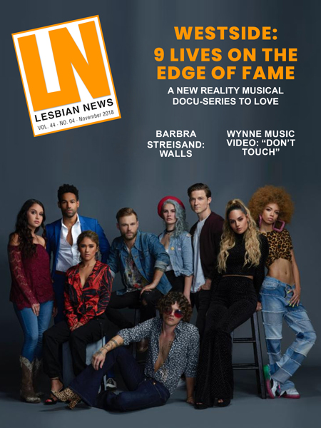 Lesbian News November 2018 Issue