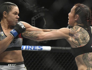 UFC fighter Amanda Nunes
