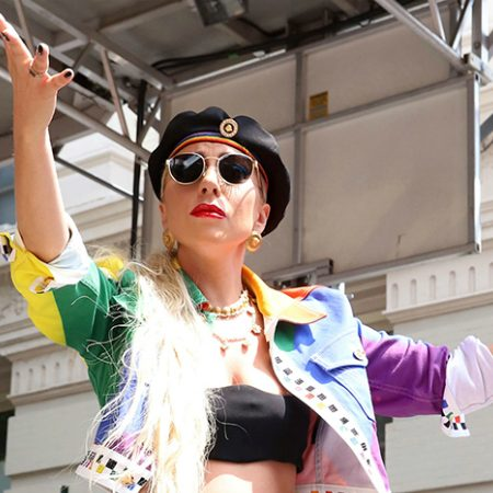 Lady Gaga celebrates 50th Stonewall anniversary with LGBTQ community