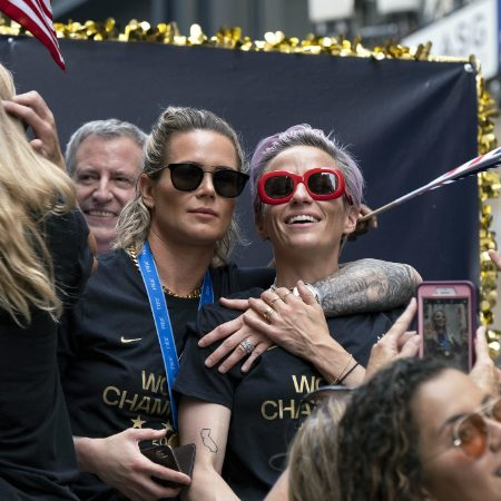 US women's national soccer team gets NYC ticker tape parade