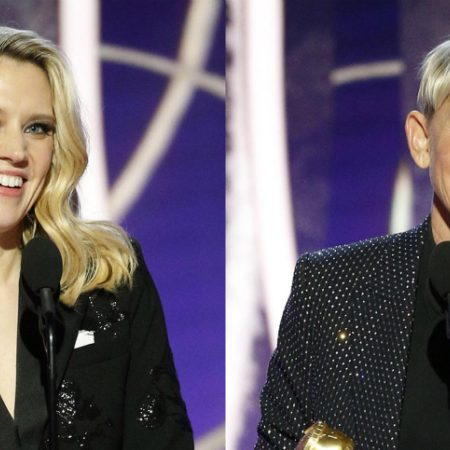Kate McKinnon thanks Ellen DeGeneres in Golden Globes tribute