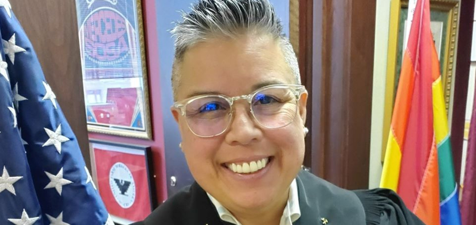 Texas lesbian judge forced to remove Pride flag in court