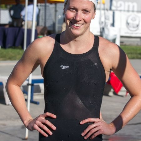Lesbian Olympic swimmer Martha McCabe shows the way