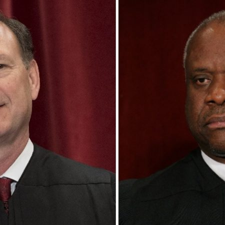 Justices Clarence Thomas and Samuel Alito take aim at Obergefell decision